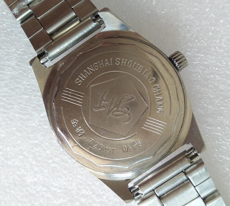 孔雀盘面老盘翻新 型男士手动机械手表 7120 库存手老上海古董手表