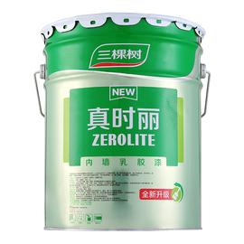 三棵树内墙环保乳胶漆 室内自刷家用墙漆 彩色粉刷墙面漆涂料18升