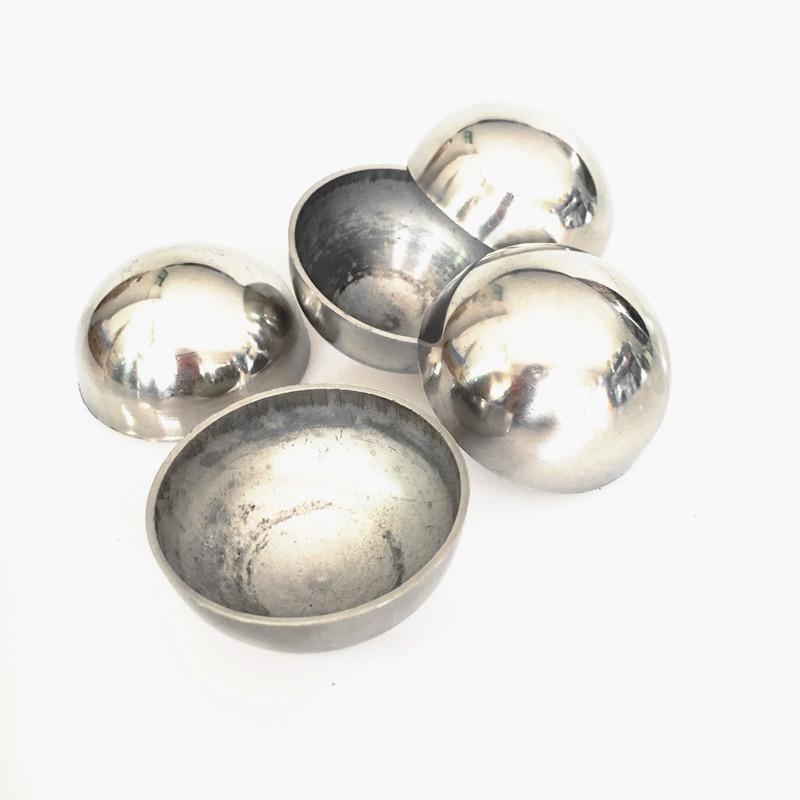 201不锈钢半球空心半圆球不锈钢精品半球 抛光镜面精品半边球圆球