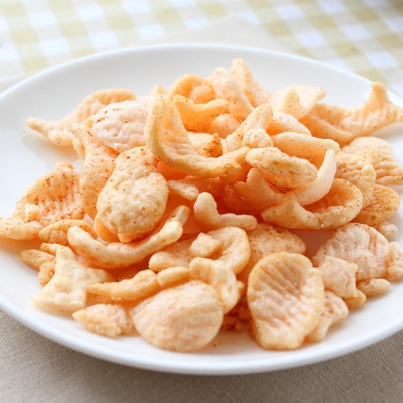 18g 亲亲小鱼果薯片油炸膨化零食海苔番茄口味儿童春秋游休闲零嘴