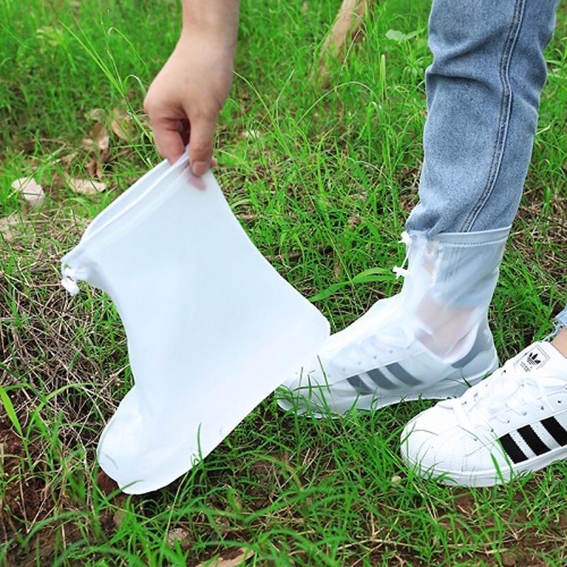 雨鞋套男女鞋套防水雨天防滑脚套加厚耐磨大人防水防雨雪硅胶鞋套
