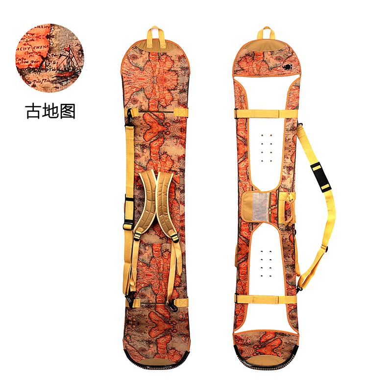 黑犀 SBR单板板套 饺子皮 滑雪板包 雪板防划防锈 单板板刃保护套