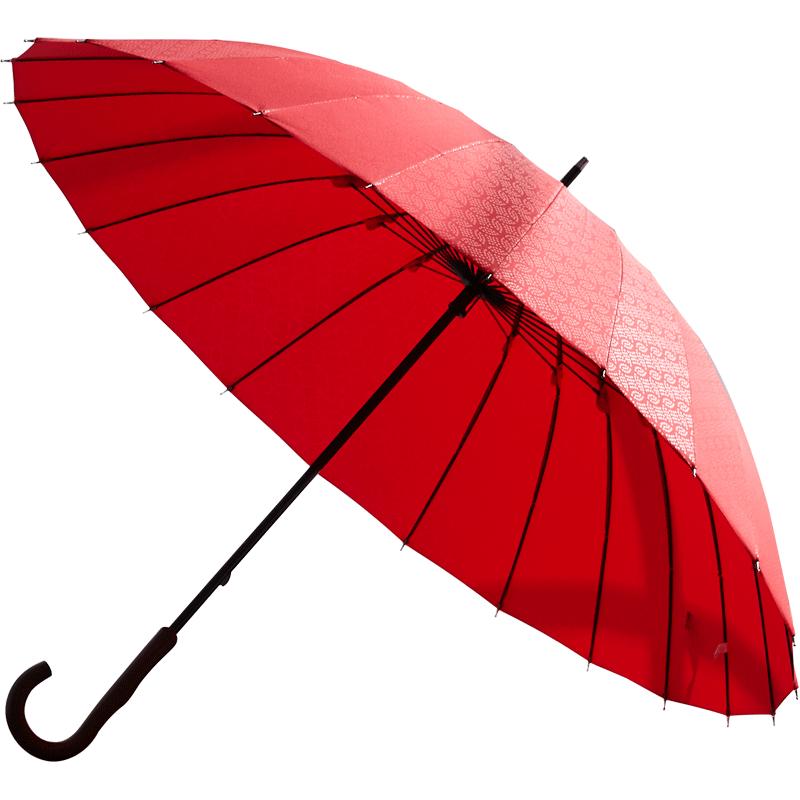 日本进口品牌Mabu复古江户雨伞,日系纯色抗风暴雨