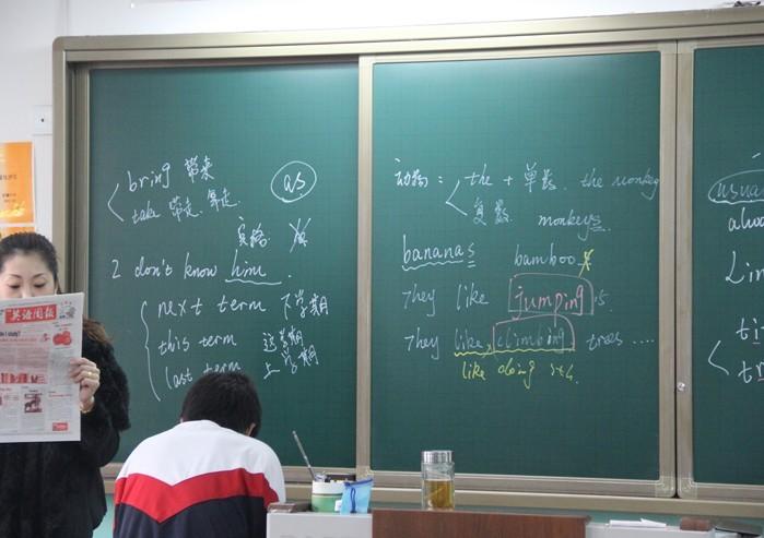 黑板绿膜教学无尘液体粉笔黑板贴膜易贴易擦墙纸高120cm