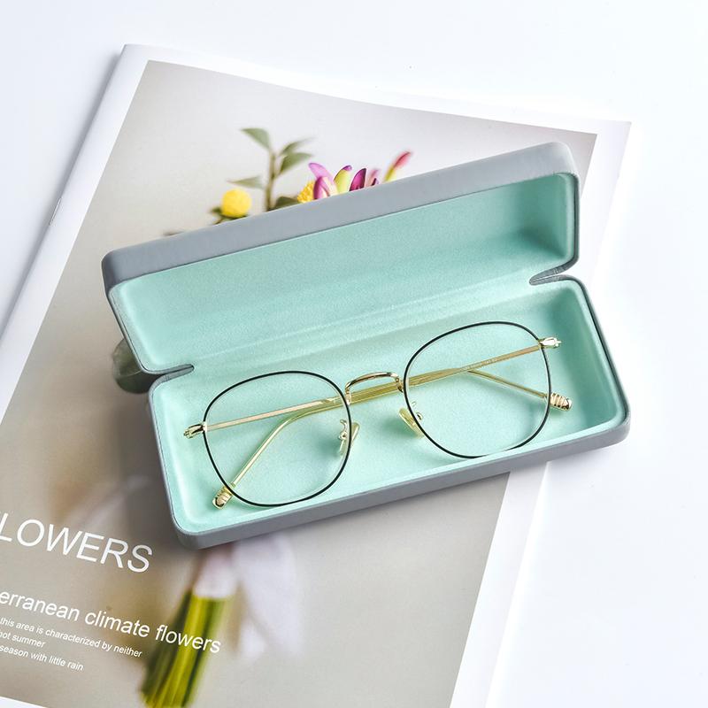 眼镜盒ins 便携防压少女复古文艺男生创意个性太阳眼睛墨镜收纳盒