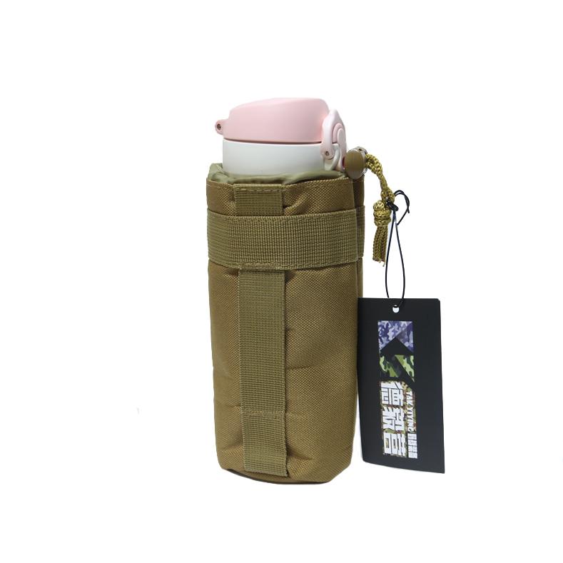 德毅营 户外MOLLE系统水壶包 水壶可挂腰户外水壶袋附包挂件包