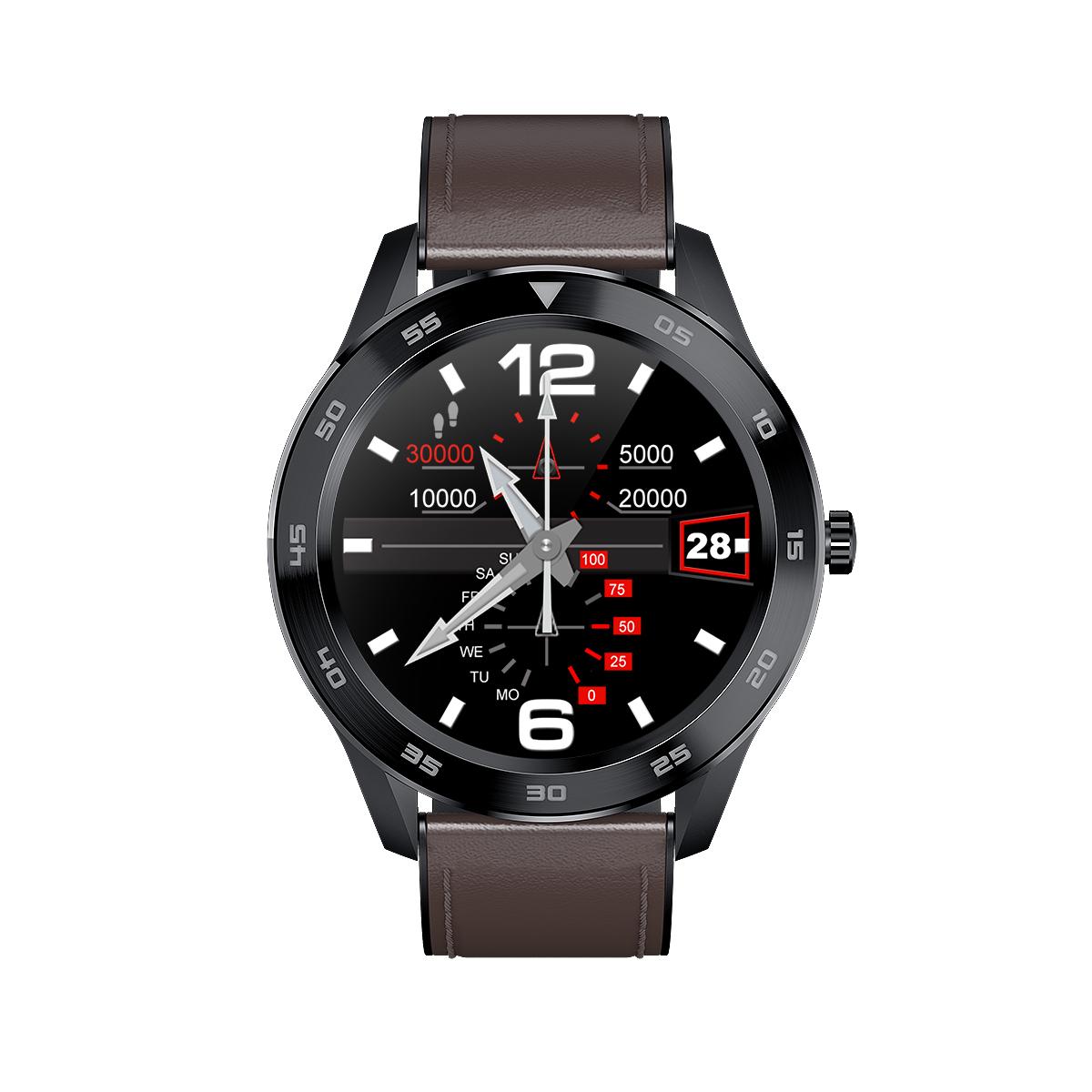 GPS 定位跑步运动健康男女防水苹果安卓通用多功能电子表 智能手表