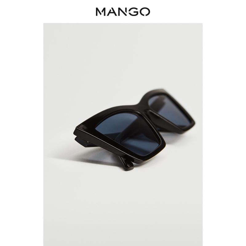 秋冬新款猫眼设计休闲百搭太阳眼镜 女装太阳镜  MANGO 2021