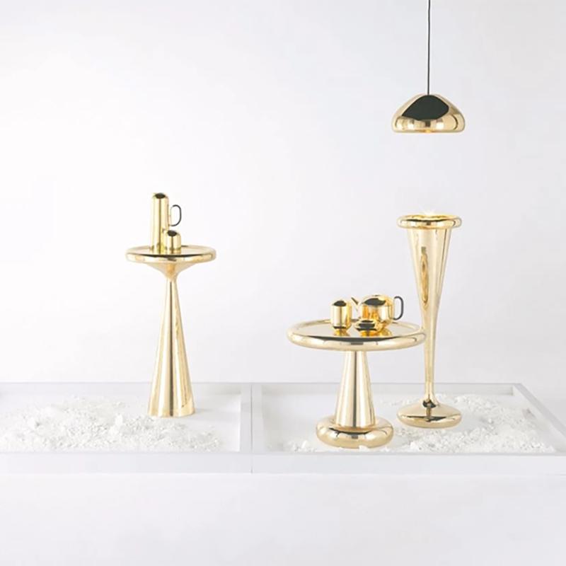 吊灯 工业风艺术 轻奢 飞碟吊灯黄铜红铜 迪克森 汤姆 北欧英国
