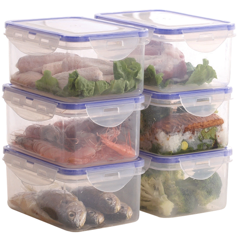 耐热饭盒男女可微波炉加热用上班族保鲜带盖密封收纳盒成人便当碗