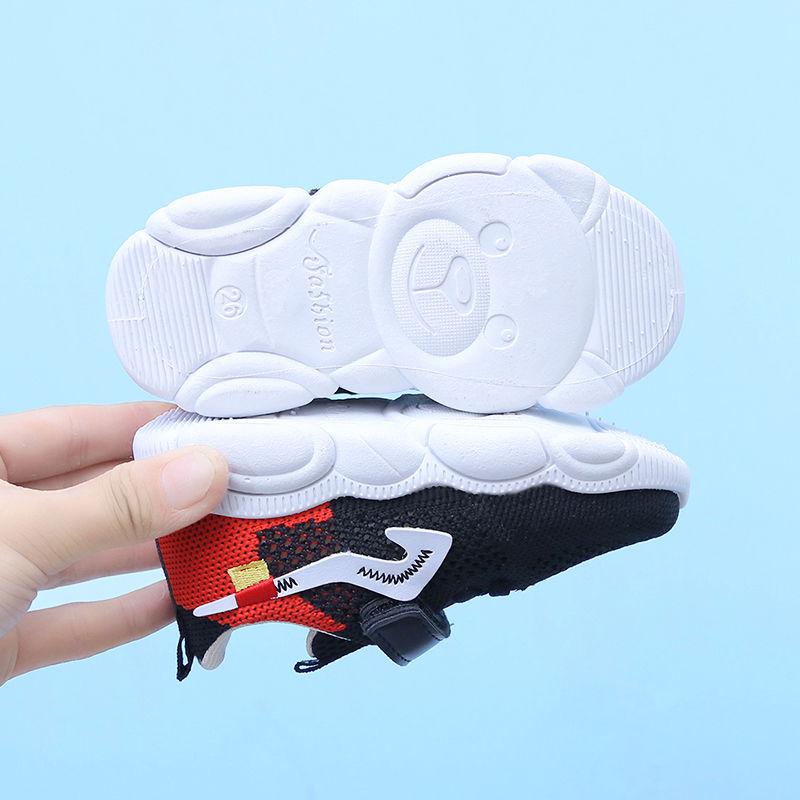 回力夏季儿童女镂空透气新款飞织童鞋软底防滑男童运动休闲宝宝鞋
