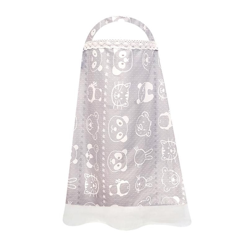 多功能哺乳巾夏薄棉罩衣外出披肩哺乳衣遮挡防走光产后喂奶透气
