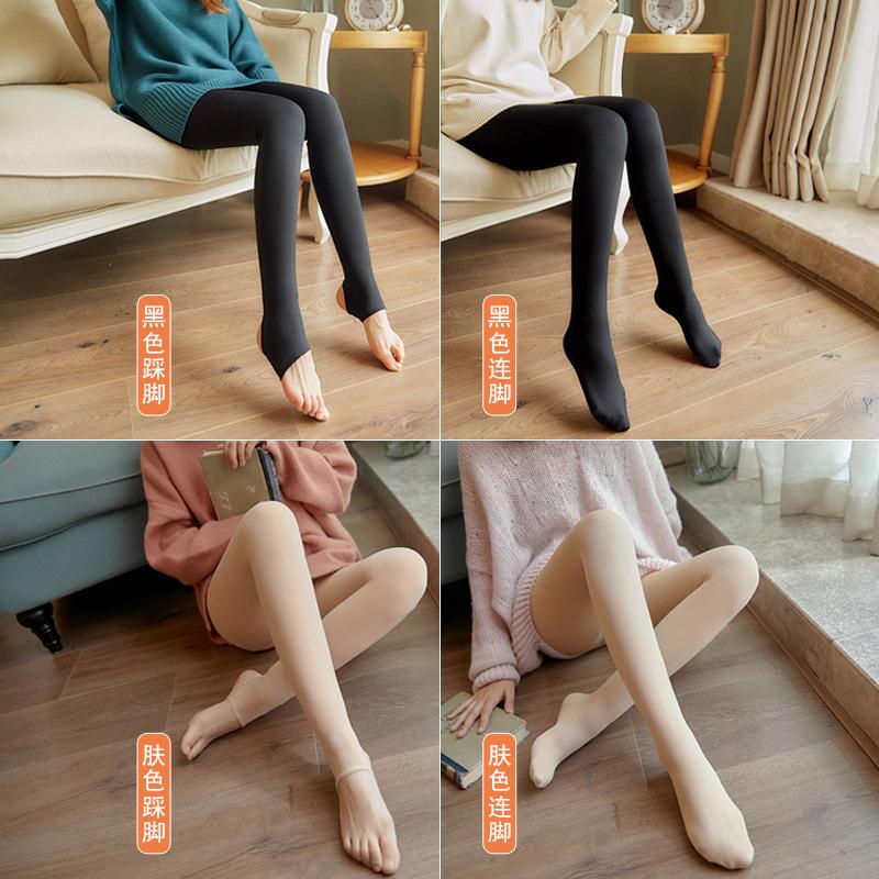 光腿袜神器女秋冬季一体裤防勾丝