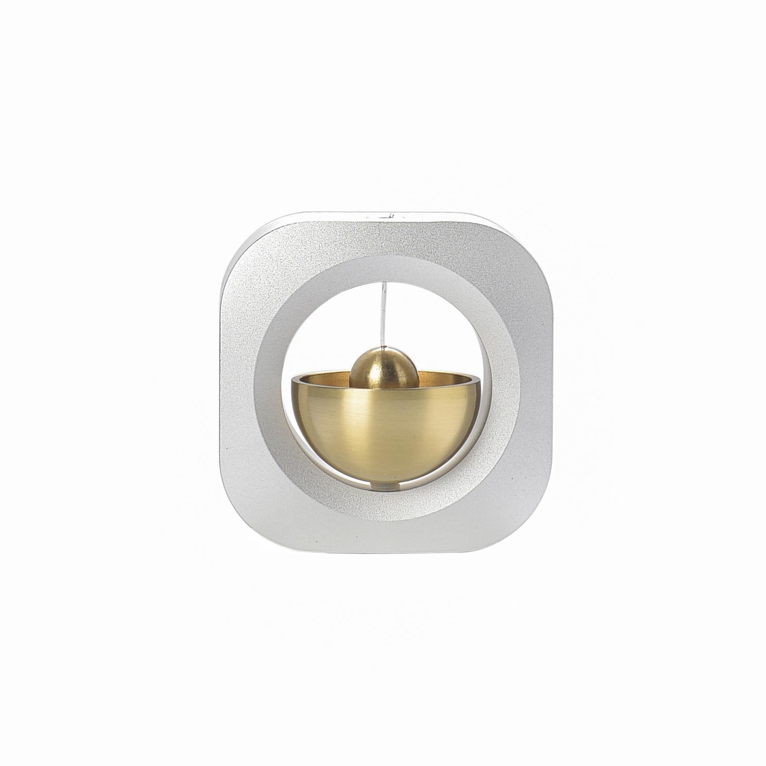 多巴胺吸门式风铃半月船日系纯铜手工铃铛小门铃创意乔迁生日礼物