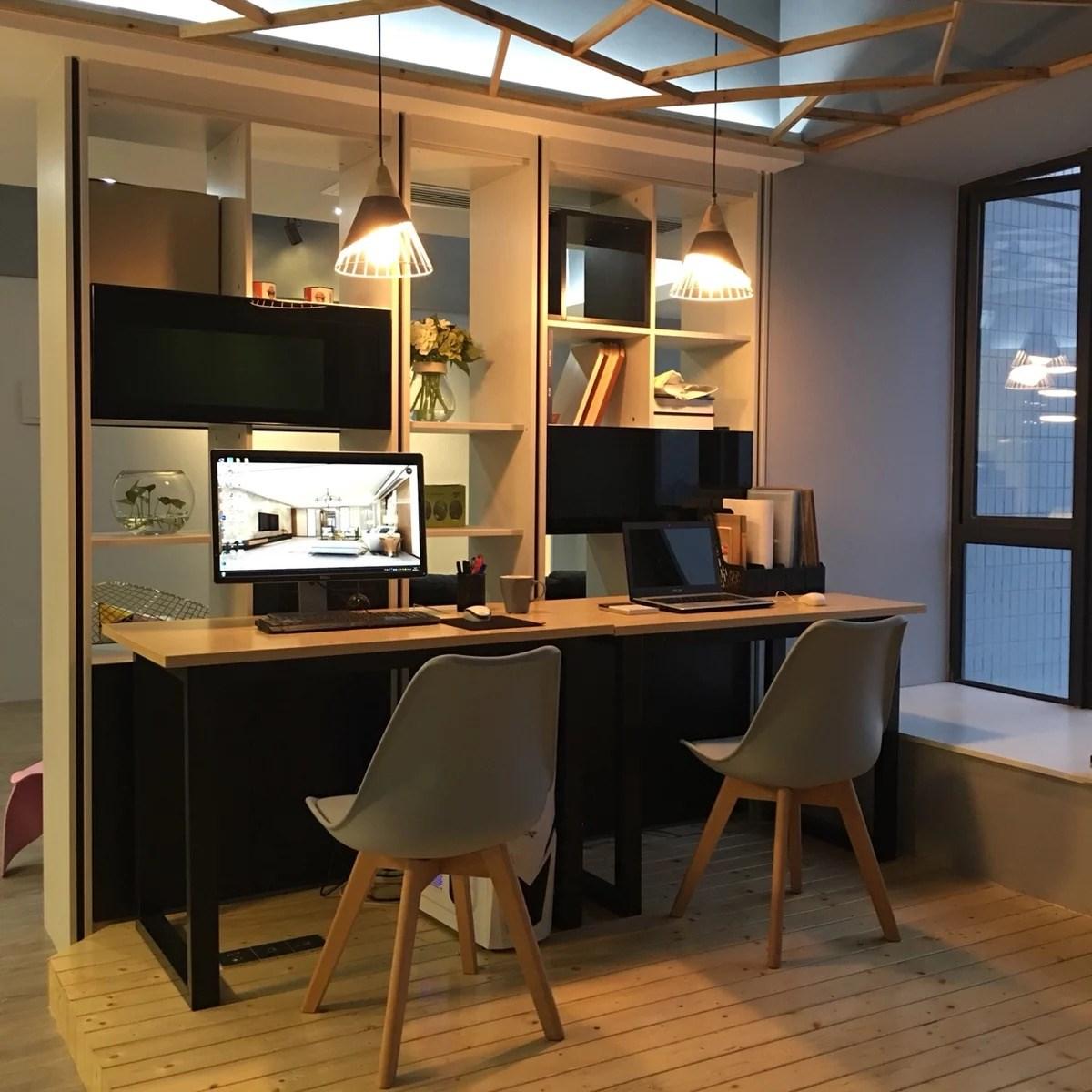 實木簡約電腦桌書桌臺式家用北歐現代臥室寫字臺學習桌辦公桌椅
