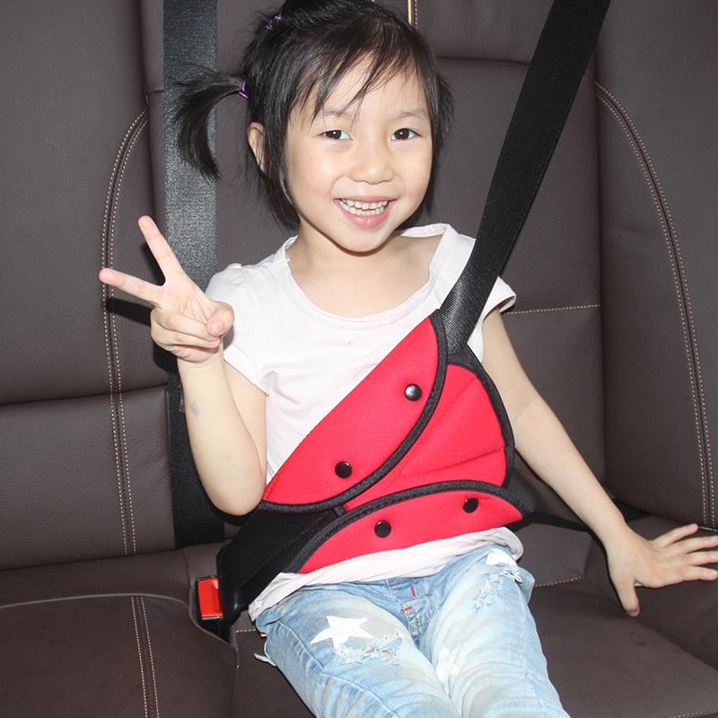 儿童安全带调节固定器防勒脖简易安全座椅汽车安全带保护套护肩套