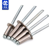 M2.4M3.2M4 open type 304 stainless steel round head blind rivet pull stud decoration nail pull rivet nail