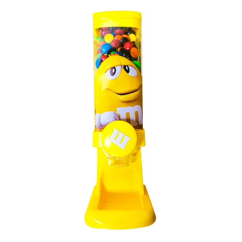 MMS糖果机牛奶巧克力豆玩具新款摆件mm豆儿童节日礼物零食扭糖机