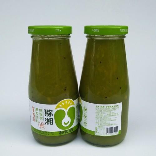 猕湘猕猴桃果浆饮料果粒果汁258克湖南湘西吉首特产凤凰果味饮料