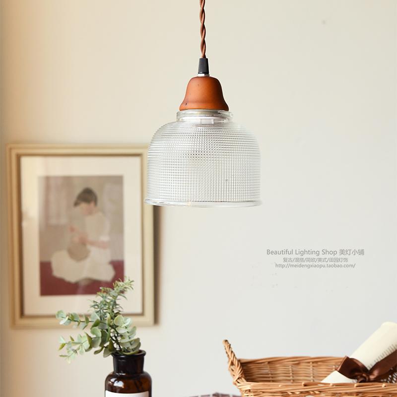 卧室床头灯餐厅灯现代创意实木