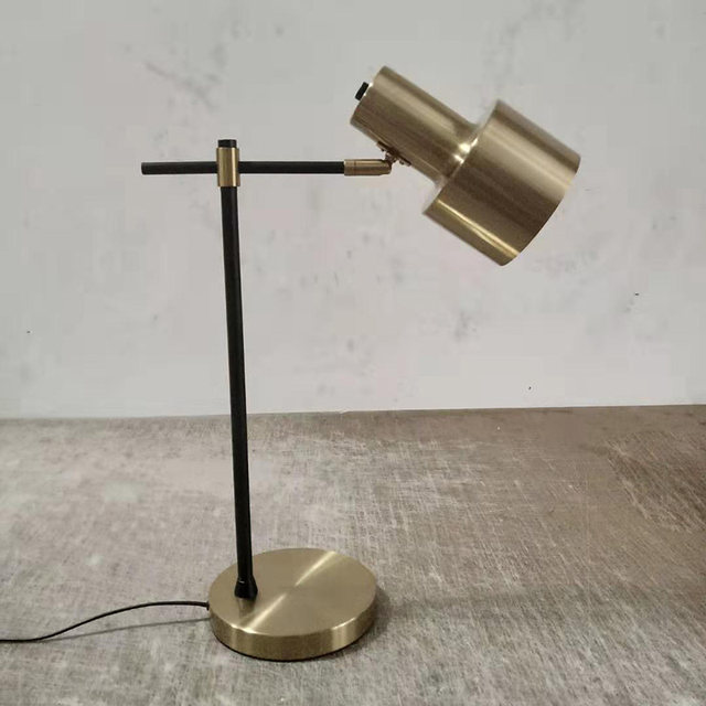 Nordicai lamp bedroom bedside lamp Modern minimalino American hotel hardware decoration modern floor lamp