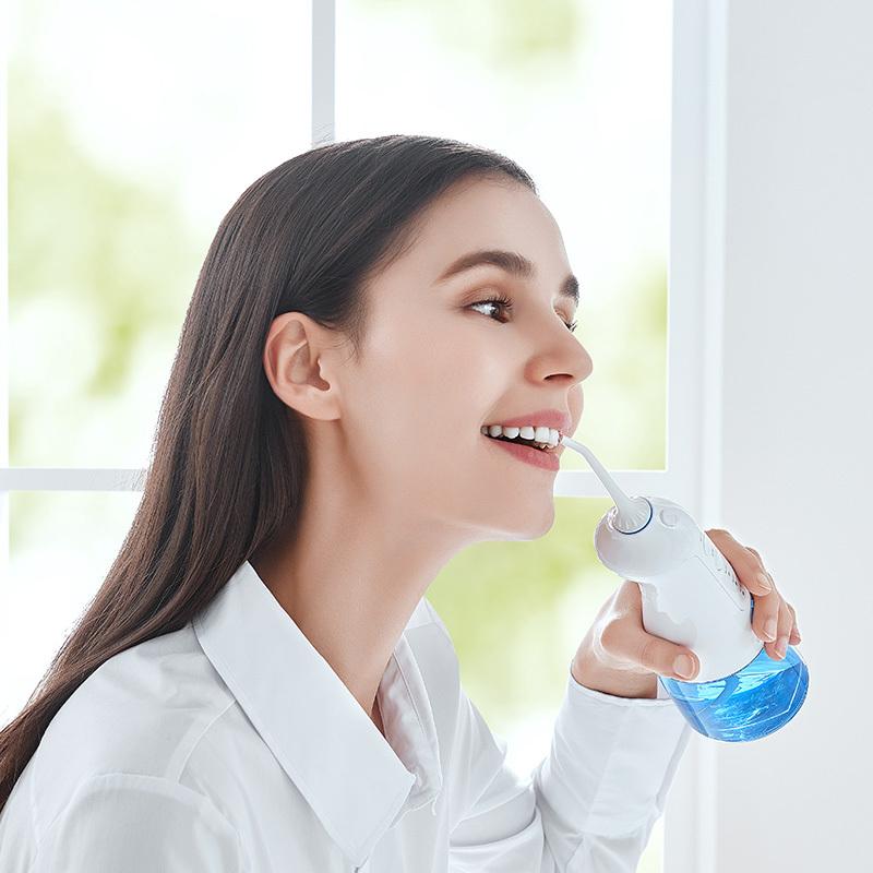 新低!60秒去牙结石,1200次/分钟高压水流:网易智造 便携冲牙器