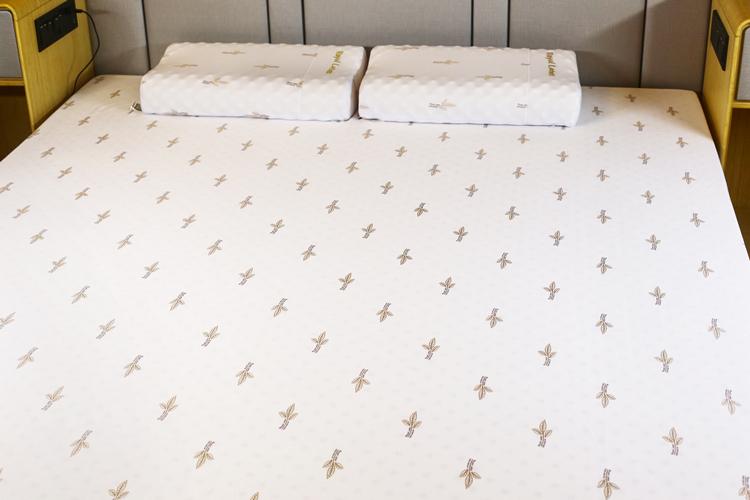 床正品 5cm10cm1.5m1.8m 泰国皇家天然乳胶床垫 RoyalLatex 原装进口