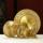 曼扎盘西藏纯铜精工八吉祥雕花供佛修曼达盘曼茶罗宝石托盘尼泊尔 mini 3