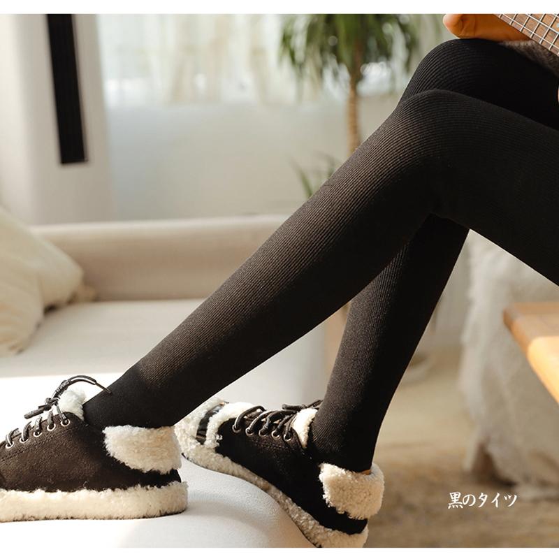 春秋季纯棉打底裤女外穿2020新款薄款黑色灰色加厚连裤袜内穿秋裤
