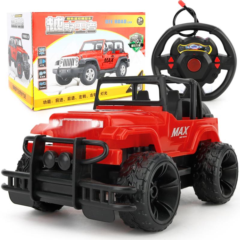 遥控车越野车充电四轮超大无线遥控汽车儿童玩具男孩电动漂移车10