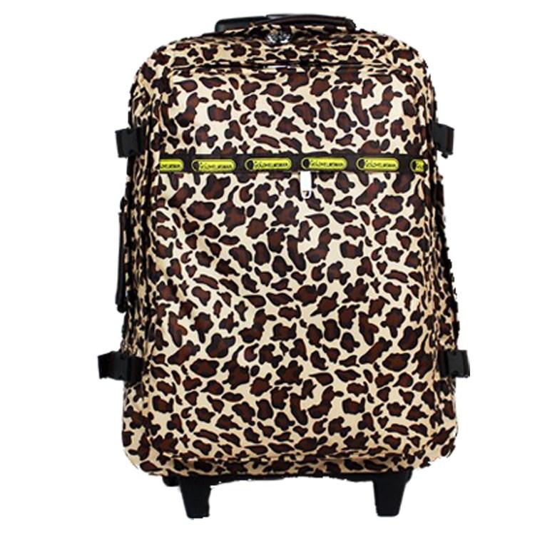 2020大容量拉杆可爱 多功能双肩包 超轻旅行箱包 行李包背包拖包