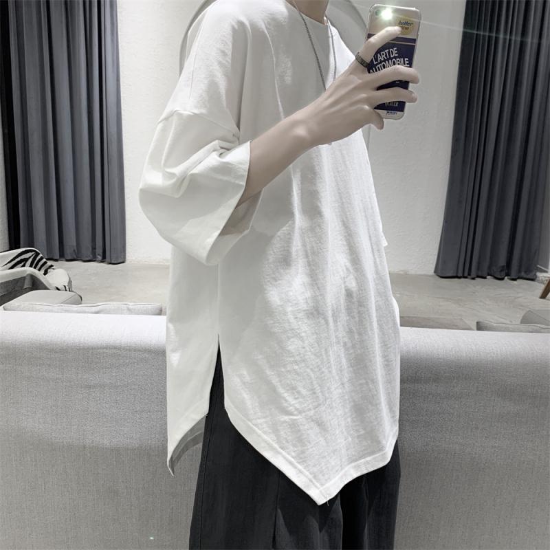 宋威龙向往的生活白色宽松短袖T恤汪苏泷彭煜畅任嘉伦王俊凯同款