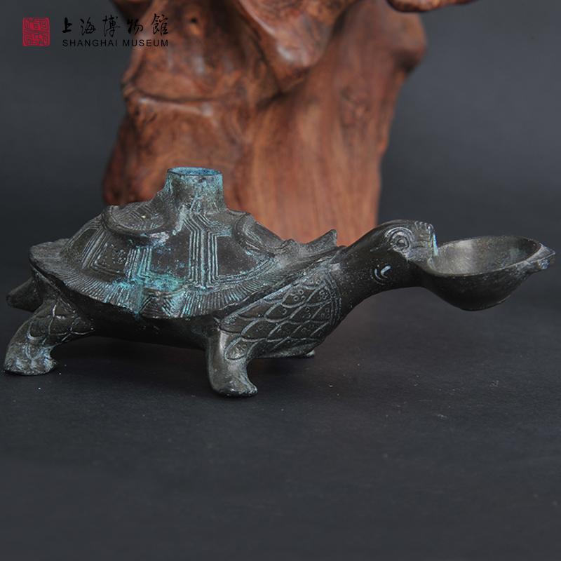 青铜玄武水注复刻文房用品砚滴中国风文创礼品 上海博物馆