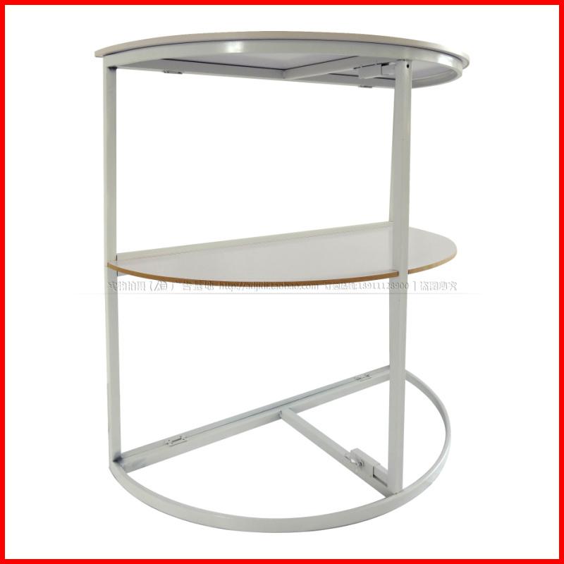 促销台折叠桌促销台展销台便携铁半圆促销台便携展台折叠桌促销桌