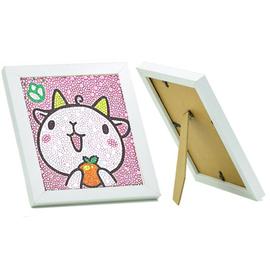 动物钻石画 十二生肖满钻带框手工diy制作小学生儿童玩具贴画女孩
