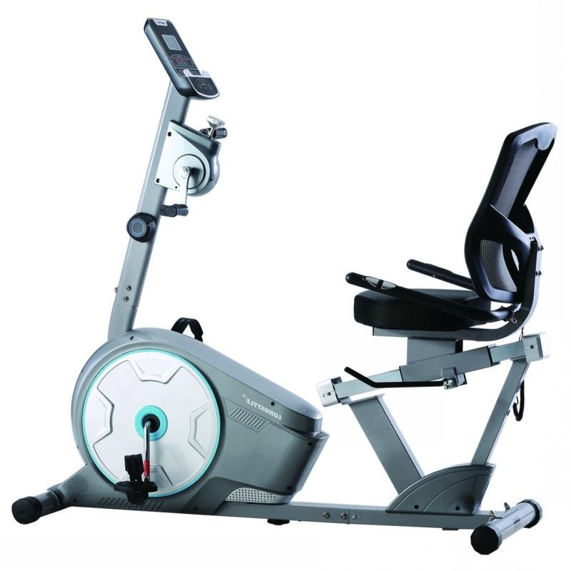 臥式健身車磁控家用動感單車中老年人康復腳踏車室內健身鍛鍊器材