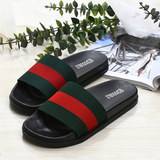 Cloth sandals casual men and women indoor and outdoor wear home non-slip new fashion Korean couple ins tide