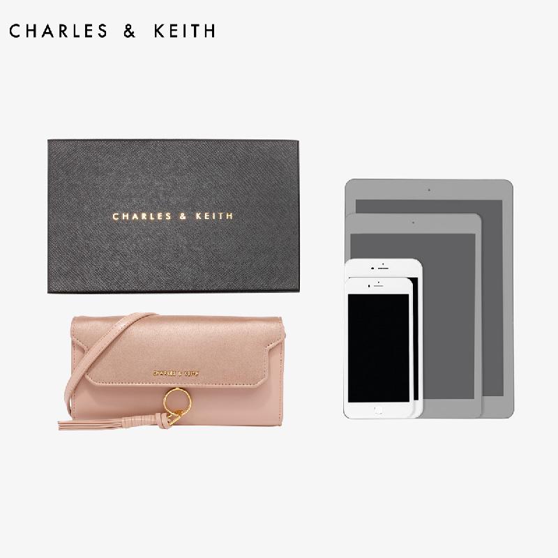 欧美流苏装饰复古手袋 10840095 CK6 长款钱包 KEITH & CHARLES