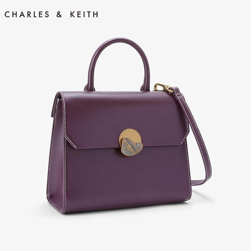 大理石金属扣饰女士大容量手提包 50780720 CK2 女包 KEITH & CHARLES