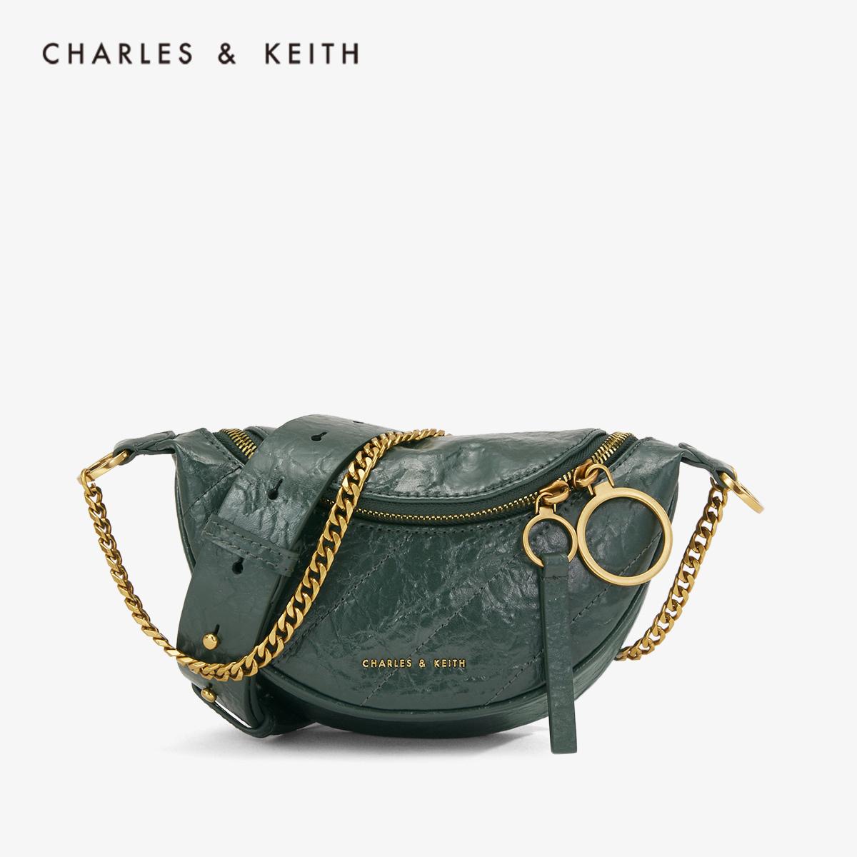 手提单肩包腰包女 80150844 CK2 秋季新品 KEITH2019 & CHARLES