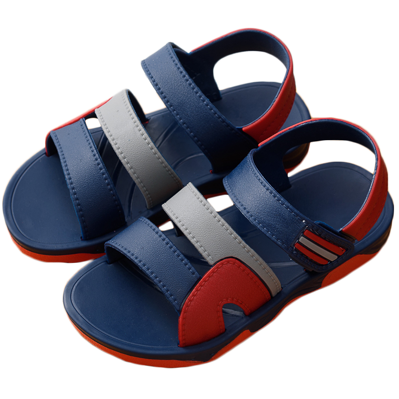 夏季儿童凉鞋新款男童女童小孩软底防滑宝宝小中大童童鞋沙滩鞋潮