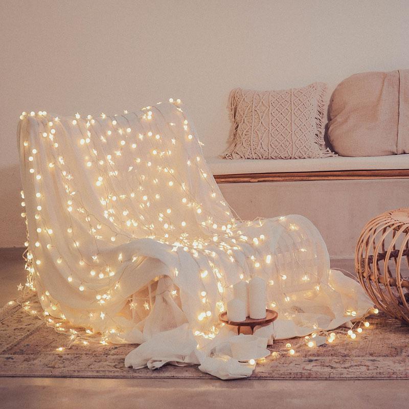 星星灯网红灯饰房间装饰布置卧室少女心led小彩灯闪灯串灯满天星