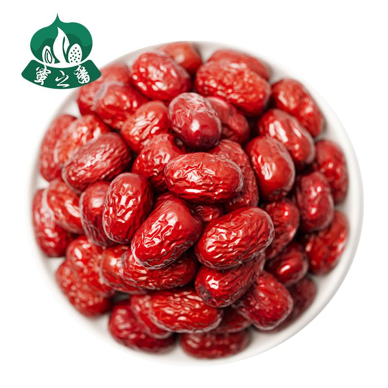 新疆红枣5斤装特级若羌灰枣2500g一级大枣子和田特产大红枣干零食 No.1