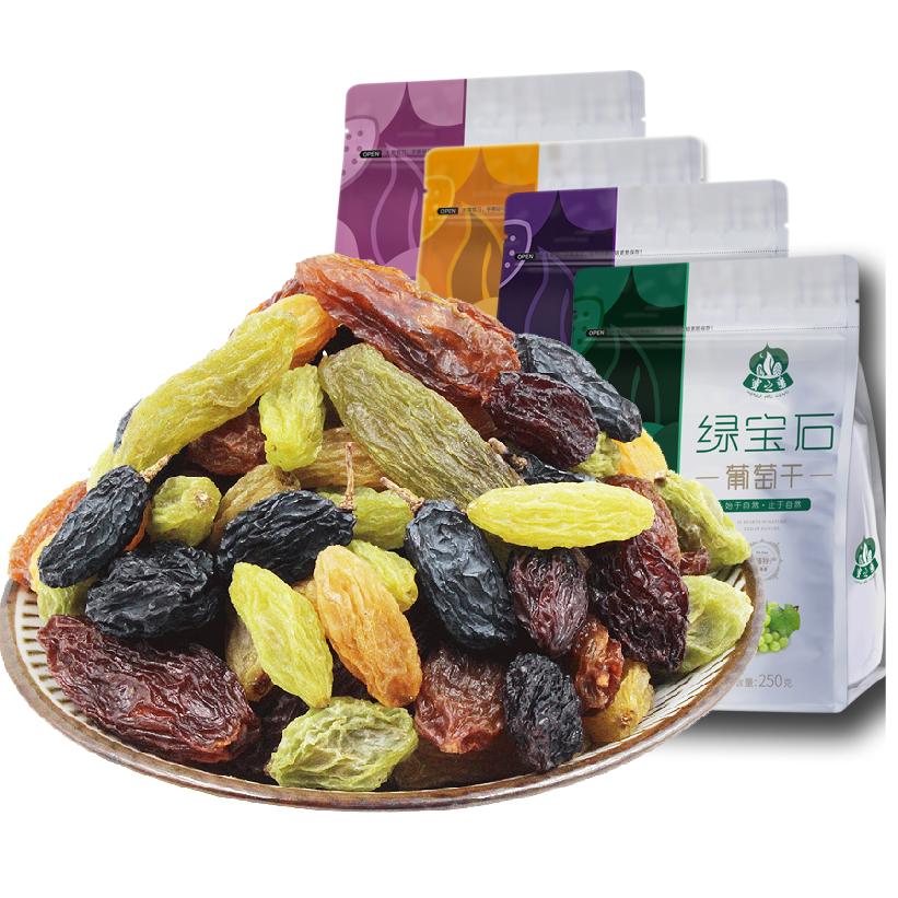 蜜之番新疆特级超大免洗即食葡萄干独小包装散装5斤提子1000g大粒