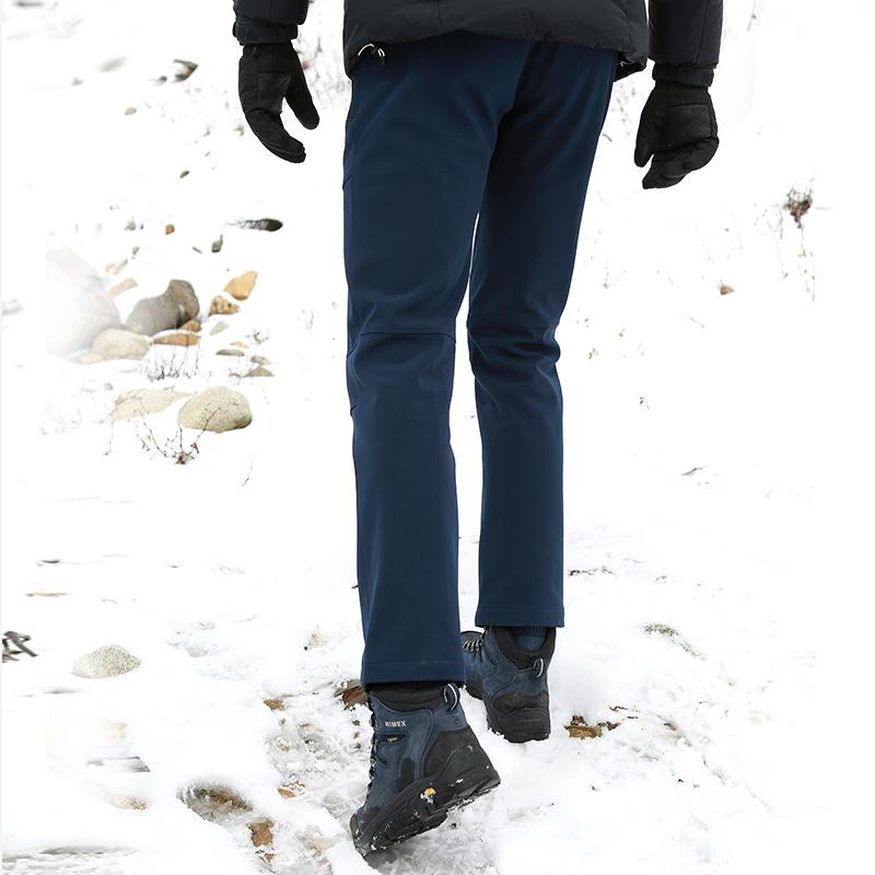 91055 双十一预售   探路者秋冬季户外休闲男裤保暖防风冲锋裤女