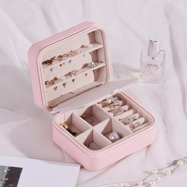 Meath language jewelry box earring earrings simple small portable storage box hand jewelry jewelry storage box