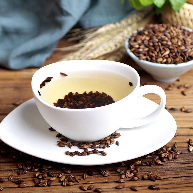 罐原粒茶泡茶可搭配苦荞茶 200g 爱丽丝大麦茶原味烘焙浓香型罐装