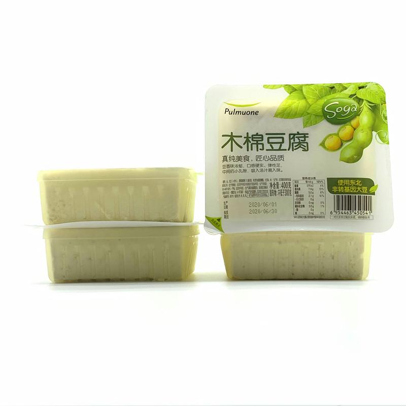 上海costco代购开市客 圃美多pulmuone 木棉豆腐 400g*4