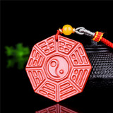 High content Zhu sand body protection tai chi gossip bag hanging pendants this life-year exorcism evil gift openthe bracelet string