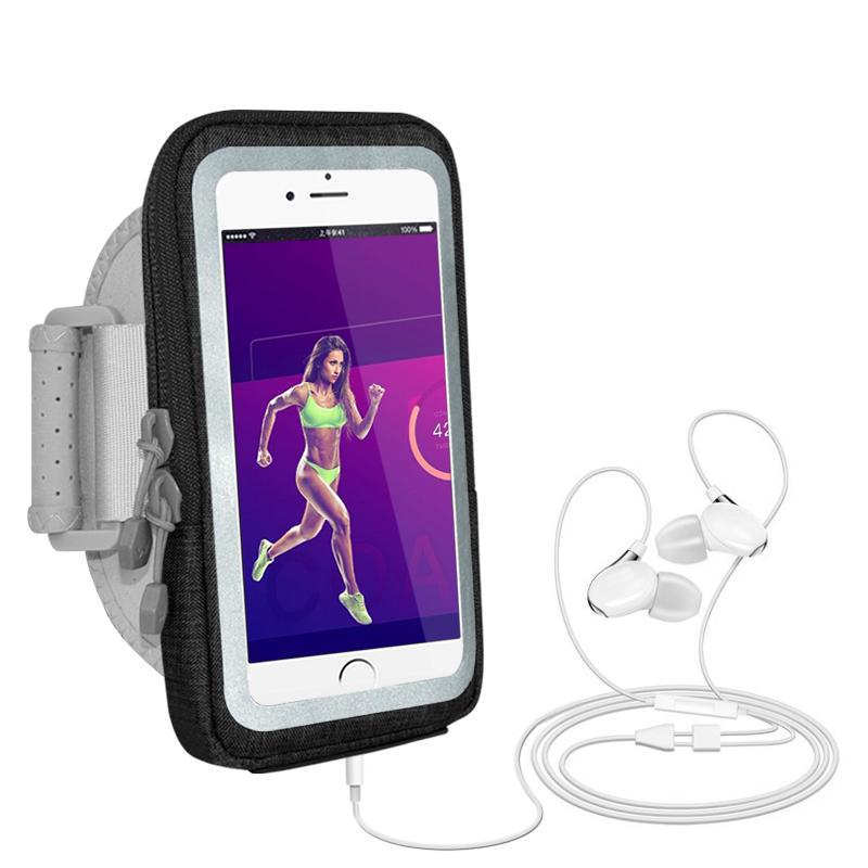 运动跑步触屏手机臂包绑带套手腕钥匙包vivo苹果x78plus通用oppo